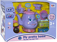 Набор детской посуды  510  Чайный сервиз, (интерактивный)