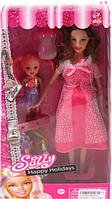 Кукла беременная с дочкой KX9020, (микс видов)