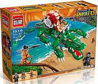 Конструктор Пиратская серия 1310 Brick (538 деталей)