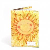 Обложка на паспорт Солнышко