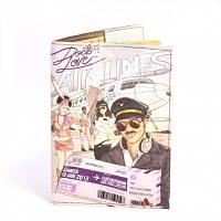 Обложка на паспорт Airlines