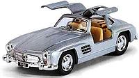 Машинка металлическая инерционная Mercedes - Benz 300SL KT 5346 W Kinsmart (4 цвета)