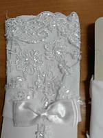 Перчатки свадебные #25 белые