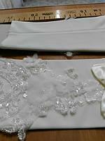 Перчатки свадебные #26 айвори
