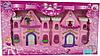 Замок CB 888-3 принцессы, фигурки, музыка, свет