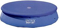 Тент для надувного круглого бассейна диаметром 244 см 28020 (Intex)