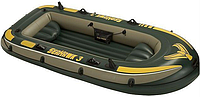 Трёхместная надувная лодка Seahawk 3 Intex (68349)