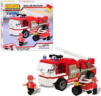 Детский конструктор Best- Lock 24059  Пожарная машина (210 деталей)