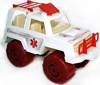 """Детская машинка """"Скорая помощь"""" МГ 164 Maxgroup"""