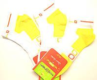Носки с цветным следом женские