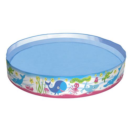 Бассейн детский круглый надувной Bestway 55029