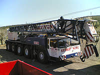 Аренда автокрана LIEBHERR LTM 1120 120 тонн в Днепропетровске
