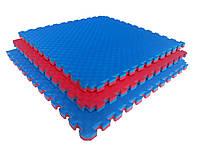 Мат татами ласточкин хвост 1000х1000х20мм  EVA 200 кг/м/куб.
