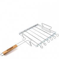 Решетка-мангал комбайн с антипригарным покрытием