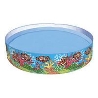 Бассейн детский круглый надувной Bestway 55030