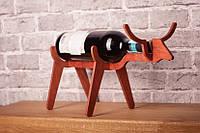 Подставка для бутылки в форме Быка