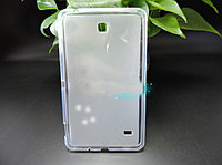 Силиконовый чехол бампер для Samsung Galaxy Tab 4 7.0 SM-T230 T231 прозрачный TPU case