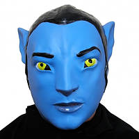 Резиновая маска Аватар