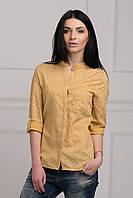 Женская рубашка прямого кроя