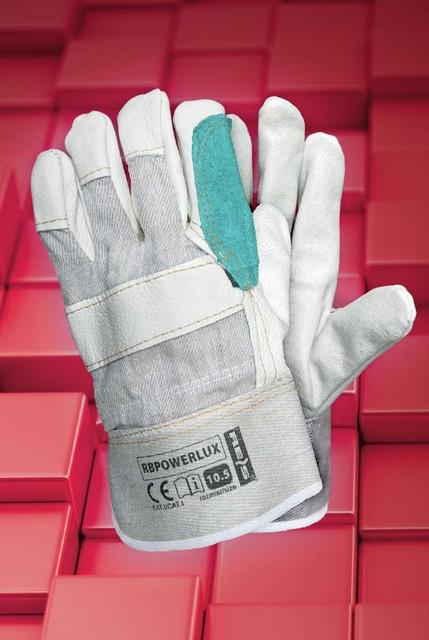 Перчатки рабочие лицевая кожа
