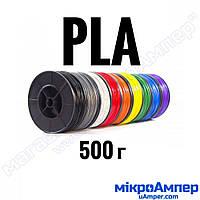 PLA пластик 0.5кг 1.75мм (Колір пластику: Блакитний)