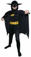 Детский карнавальный костюм Бетмен фактурный