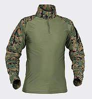 Рубашка боевая Helikon-Tex® Combat Shirt - USMC Digital Woodland