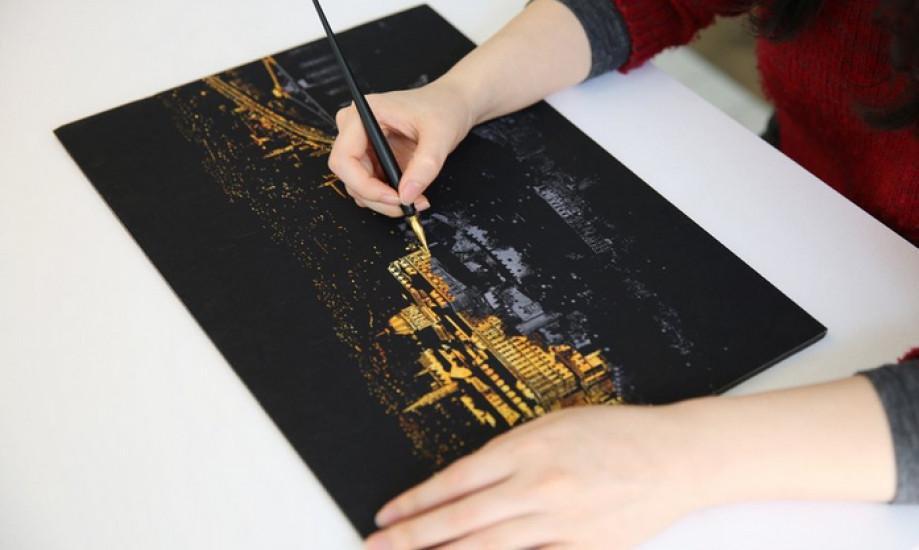 Скретч-картина Египет ночью - Интернет-магазин подарков Podarkus. в Харькове