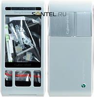 Корпус Sony Ericsson С905 серебро High Copy