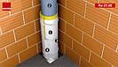 Звукоізоляція каналізаційних труб 3 м/упак. Tecsound INSULTION PIPE, фото 4