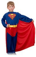Детский костюм Супер мена. Карнавальный костюм супер героя. Супер мен