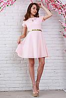 Красивое платье из креп-жаккарда