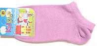 Летние детские короткие носки светло-фиолетовые