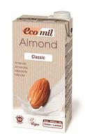 Органическое миндальное молоко классическое, ТМ EcoMil, 1 л