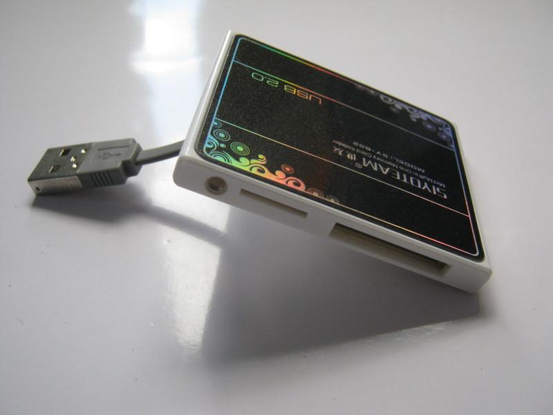 Картридер Card reader чёрный siyoteam SY 682