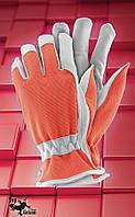 Защитные перчатки   RDRIVER.Перчатки рабочие кожаные