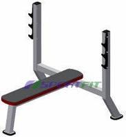 Скамья для жима горизонтальная Sport Fit (1103)