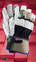 Защитные перчатки RFORESTER.Перчатки рабочие  из лицевой кожи