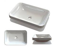 Мебельная раковина Fancy Marble Aino 550x370