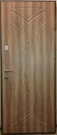 Входная дверь модель Т2-360 вишня малага, фото 2