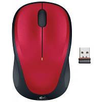 Мышь беспроводная Logitech M235 (910-002496) Red USB