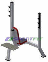 Скамья для жима вверх Sport Fit (1105)