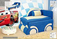 Детский односпальный диван Машинка