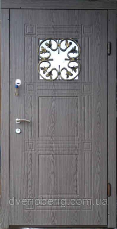 Входная дверь модель Т-1-3 345 vinorit-25 КОВКА