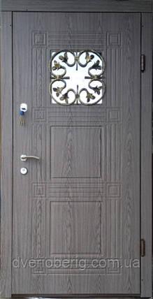 Входная дверь модель Т2 345 ДУБ ВУЛКАН КОВКА, фото 2