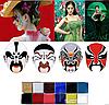 "12 цветов краска боди-арт для лица маслом макияж на хэллоуин, вечеринку ""Imagic"" make up 70 грамм, фото 4"