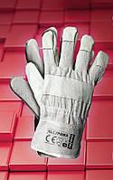 Защитные перчатки RLCJPAWA.Перчатки рабочие из лицевой кожи, фото 1