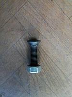 Болт с гайкой для крепления долота к лапе культиватора