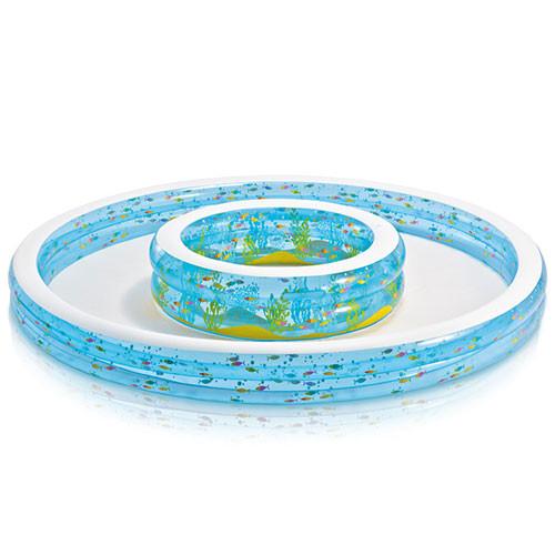 Бассейн детский круглый надувной Intex 57143