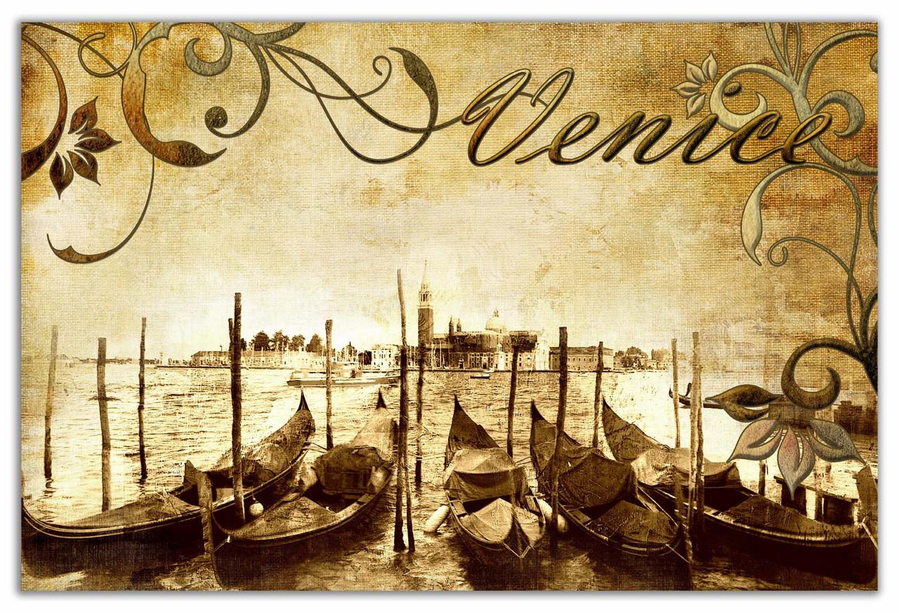 """Картина на холсте """"Венеция прованс"""""""